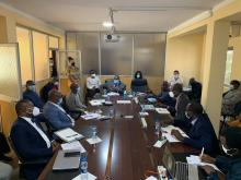 ECOWAS DELEGATION ON MISSION TO ECREEE
