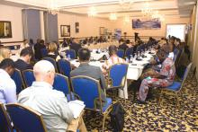 Cross section of participants at the Investment Week, Accra, Ghana