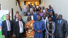 ESEF19 GROUP PICTURE Vice-President of Ghana During ESEF19