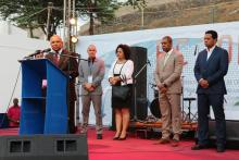 Opening ceremony of the International Fair of Cabo Verde with the Prime-Minister of Cabo Verde, Dr. Jose Maria Neves