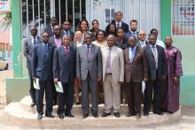 ECREEE Group Photo with the ECOWAS President