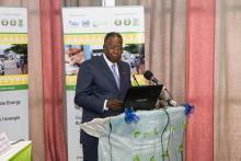 H.E. Adama Toungara, Minister of Petroleum & Energy of Côte d'Ivoire