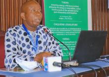 Bah F.M. Saho - ECOWAS Parliament's delocalized meeting of the Joint Committee on Agriculture, the Environment and Natural Resources, in Abidjan, Cote d´Ivoire