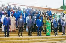 Group photo ECOWAS Parliament's delocalized meeting of the Joint Committee on Agriculture, the Environment and Natural Resources, in Abidjan, Cote d´Ivoire