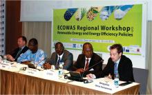ECOWAS Regional Workshop on RE & EE Policies