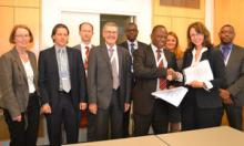 Signing ceremony of agreement between the Austrian Development Agency and the ECOWAS Centre for Renewable Energy and Energy Efficiency