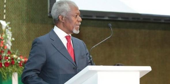 H.E. Kofi Annan, President African progress Panel