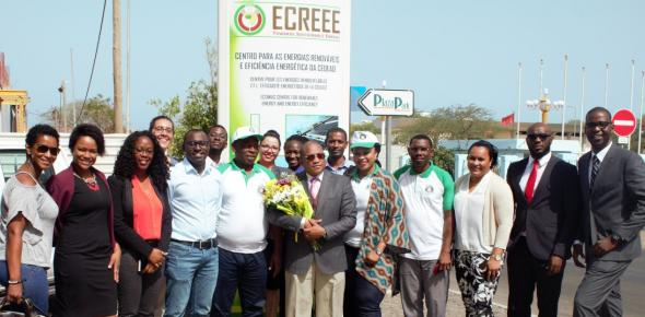 ECOWAS Commissioner for Human Resources, Dr. Jeremias Furtado, ECREEE, Mahama Kappiah, Visit to ECREEE